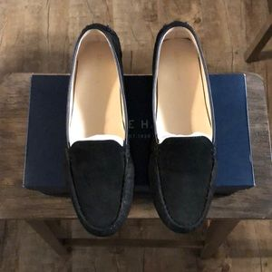Come Haan loafer in black suede